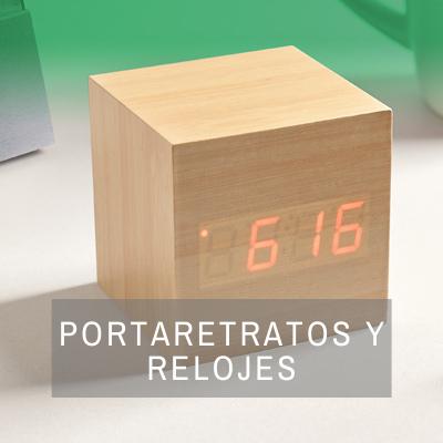 REGALOS PORTARETRATOS Y RELOJES